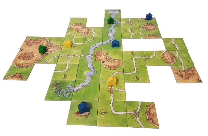 Carcassonne In Play