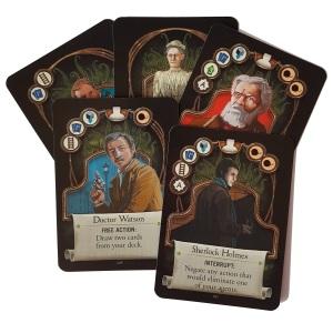 Sherlock Cannon Cards