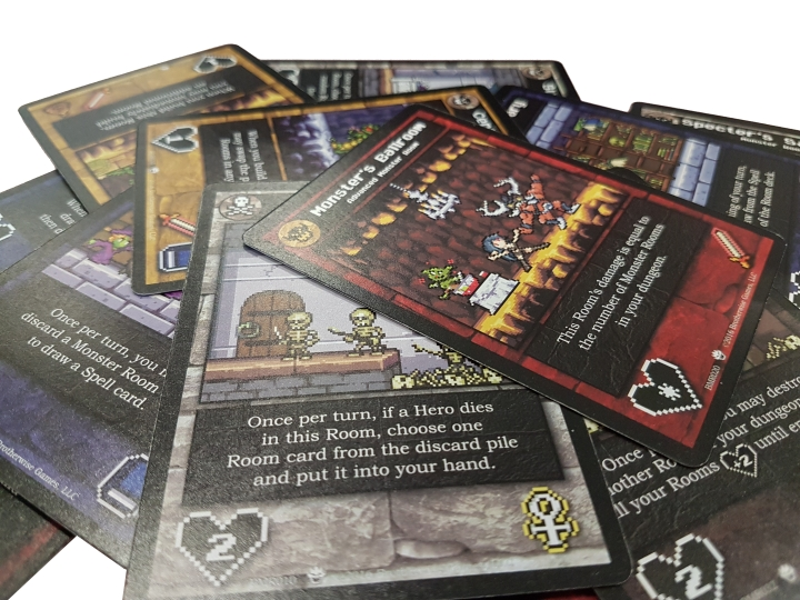 Dungeon Room Cards