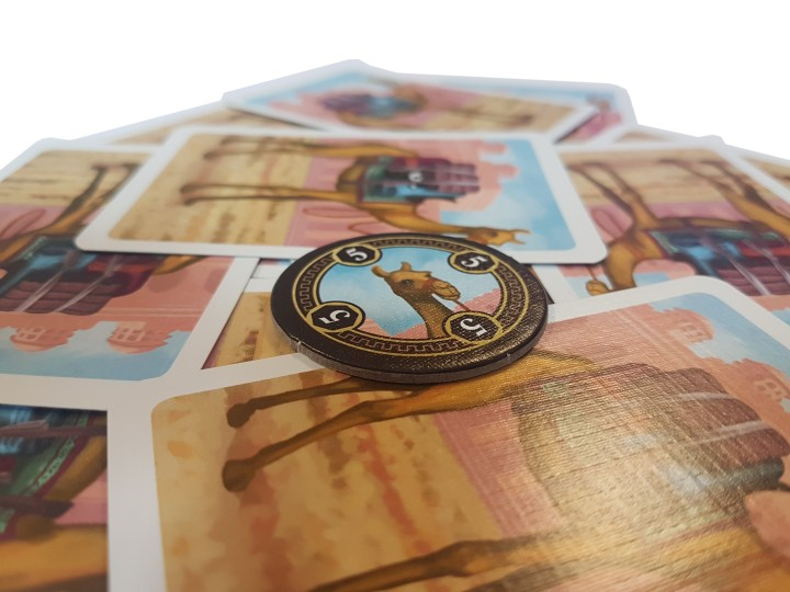 Jaipur boardgame review camels