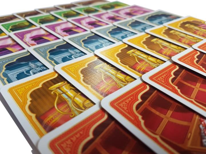 Jaipur board game review card display
