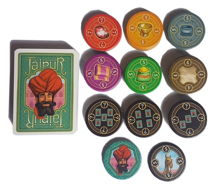 Jaipur board game review all of the components