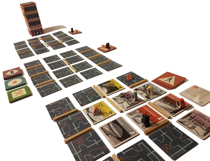Burgle Bros review image of the game in play