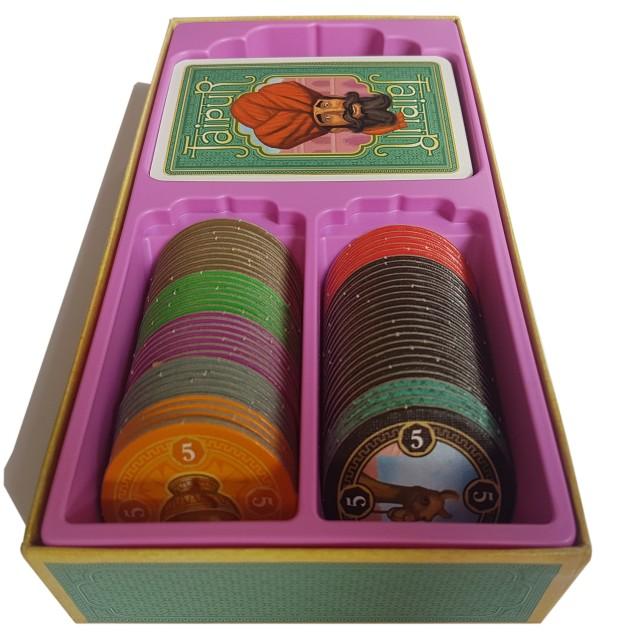 Jaipur board game review box insert