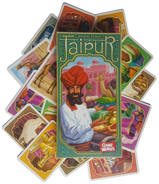 Jaipur board game review presentation image