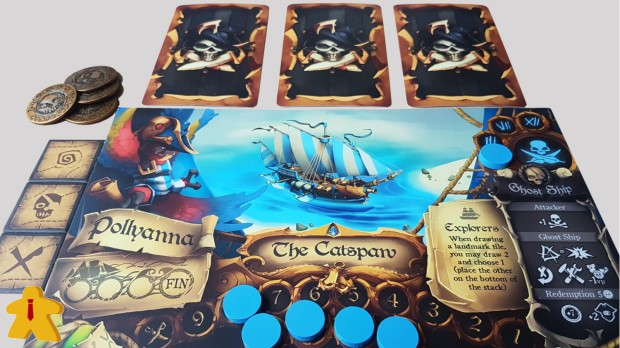 Dead Mans's Doubloons Review Player Board