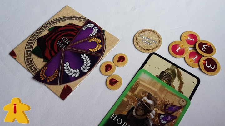 Gladiatores Board Game Review - Board Meetings - In Play