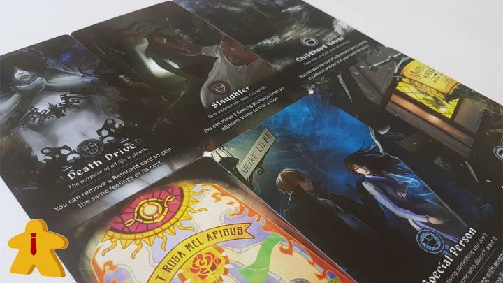 So Long, My World Board Game Review - Vision Cards